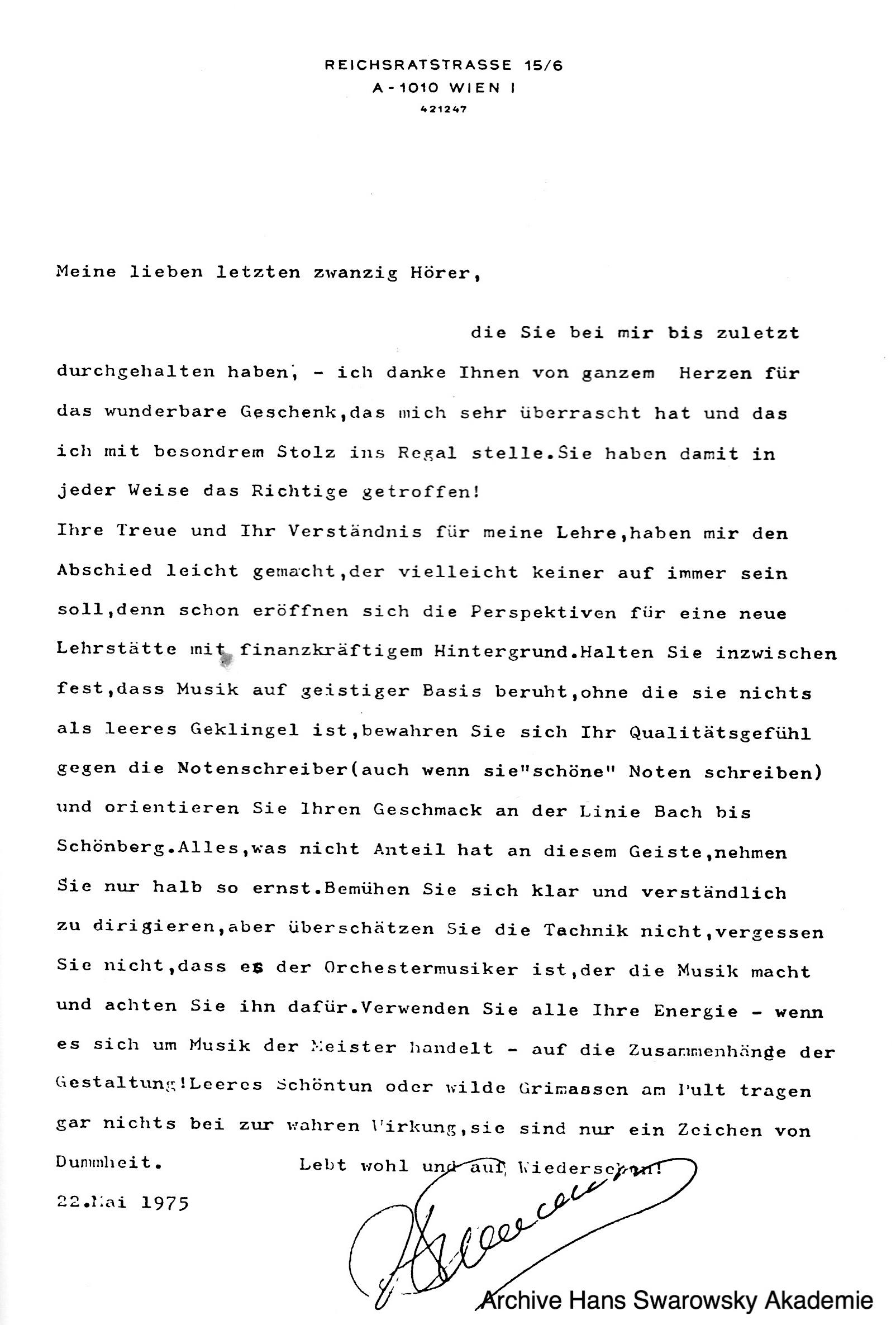 8bbddb9e4f6 Hans Swarowsky - Letter to students May 1975